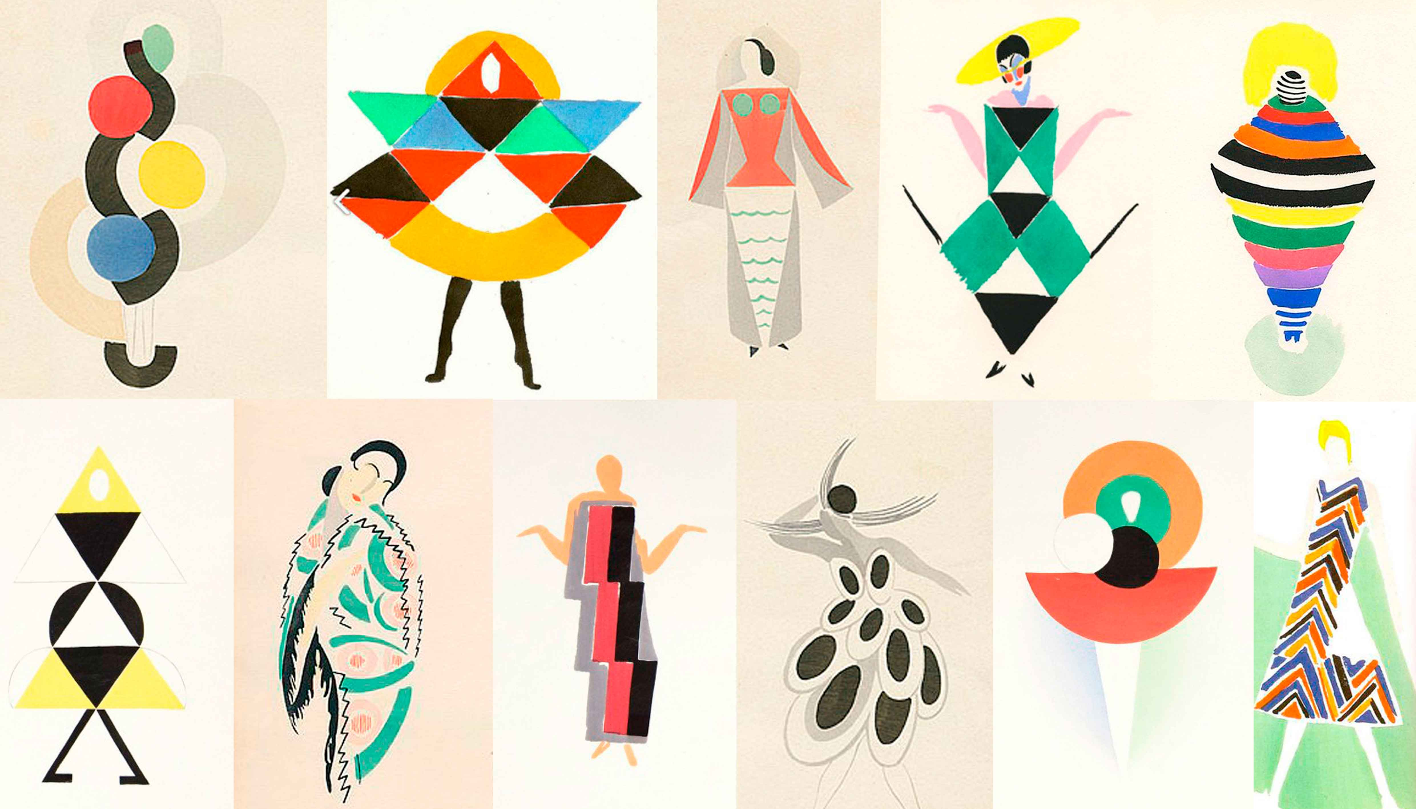 Cris lida la barrera entre arte y moda sonia delaunay - Pinturas de moda ...