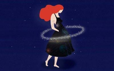 Ilustraciones sobre el espacio para FANTASÍA ESPACIAL